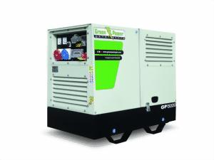 baustellen stromaggregat diesel stromgenerator 230v 9 7 kw gp10000sm led6 profi. Black Bedroom Furniture Sets. Home Design Ideas