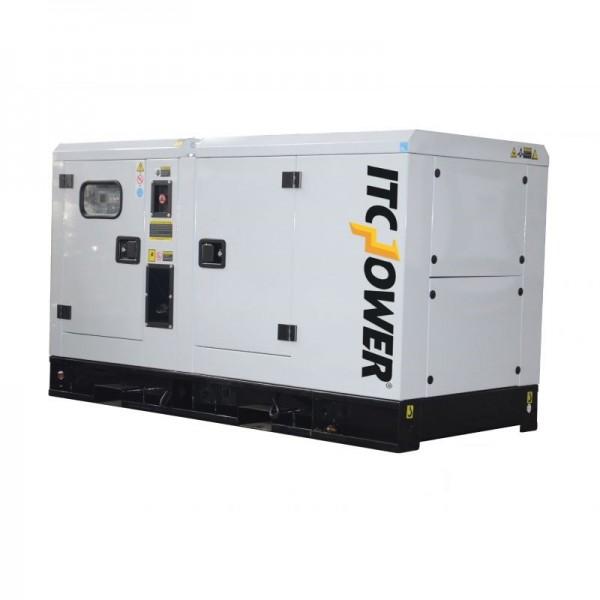 ITC Power Industrie Stromerzeuger Stromaggregat DG34KSE 34KVA Diesel